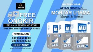 Jual Semen Mortar Surabaya, Sidoarjo, Gresik